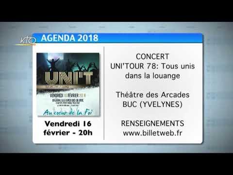 Agenda du 5 février 2018