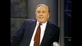 Gore Vidal on Late Night, September 25, 1992