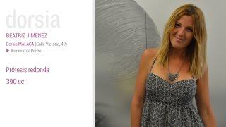 Aumento de pecho - Testimonio Beatriz Jimenez - Clínica Dorsia Zaragoza Sagasta