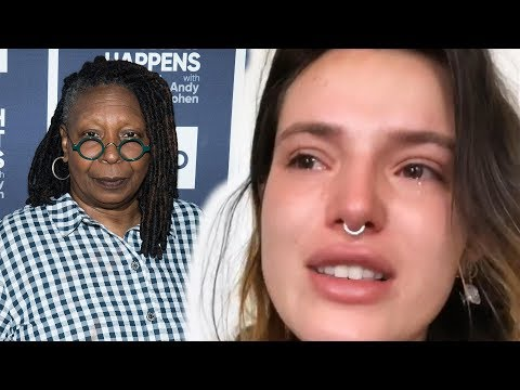 Bella Thorne Breaks Down in Tears Over Whoopi Goldberg's Response to Her Sharing Intimate Photos