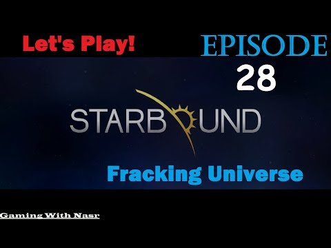 Starbound Races Frackin