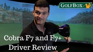 Cobra F7 and F7+ Driver Review by Golfbox