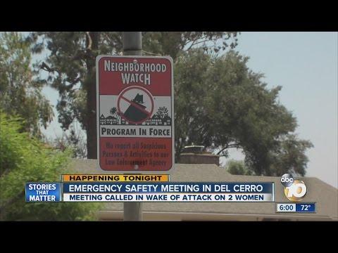 Del Cerro residents meet in wake of violence