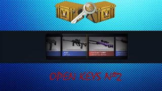 Open Keys CS:GO #2: Хромакейс или дождь из денег