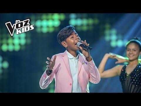 Brayan canta Entra en Mi Vida  La Voz Kids Colombia 2018