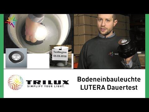 LED Bodeneinbauleuchte TRILUX  LUTERA im Dauertest - TRILUX Außenleuchte