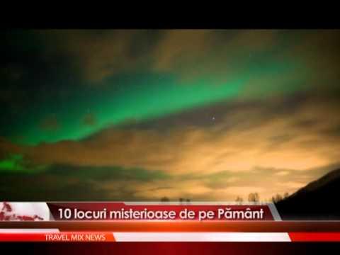 10 locuri misterioase de pe Pamant