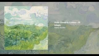 Violin Sonata in G minor