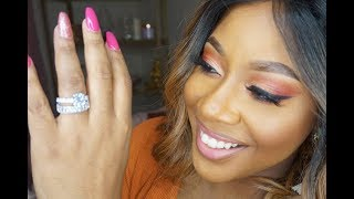 3ct Wedding Ring Set | HelloJewelr.com