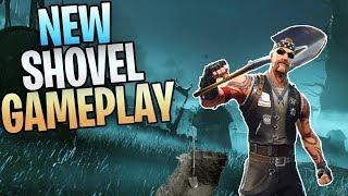 FORTNITE - New Six Feet Under Shovel Save The World Gameplay