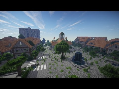 Post Apocalyptic City Survival Map Minecraft Project - The last of us minecraft map