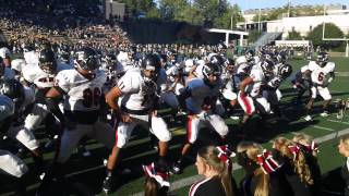 Euless Trinity Trojans of TEXAS VS McKinley High Scool of HAWAII In HAKA Showdown 2012