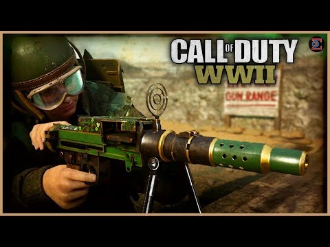 MG81 LMG CHROME Camo Grind in Call of Duty: WW2 - GIVEAWAY in DESCRIPTION