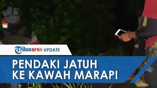 Pendaki Berusia 14 Tahun Asal Padang Jatuh ke Kawah Gunung Marapi, Begini Kondisinya