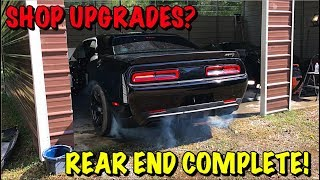 Rebuilding A Wrecked 2017 Dodge Hellcat Part 15