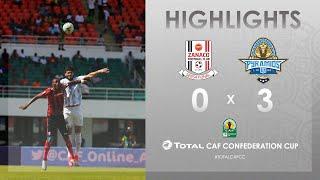 CC CAF : Zanaco FC 0-3 Pyramids FC