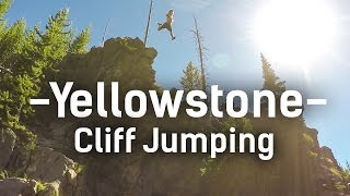 USA Road Trip | Edit #1 - Cliff Jumping in Yellowstone (GoPro)