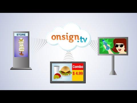 Video of OnSign TV – Digital Signage