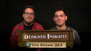 Designer Insights: Live Stream Q&A