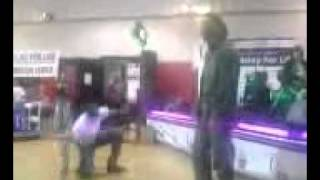 chris brown (Boom box Battle) c.b and josh