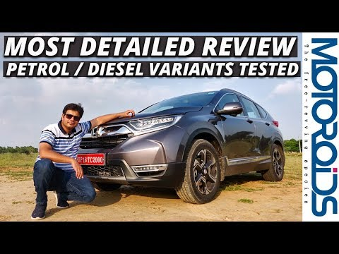 New 2018 Honda CR-V India Review
