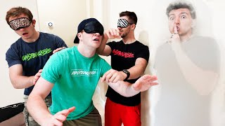 EXTREME Blindfolded Hide and Seek vs Unspeakable!