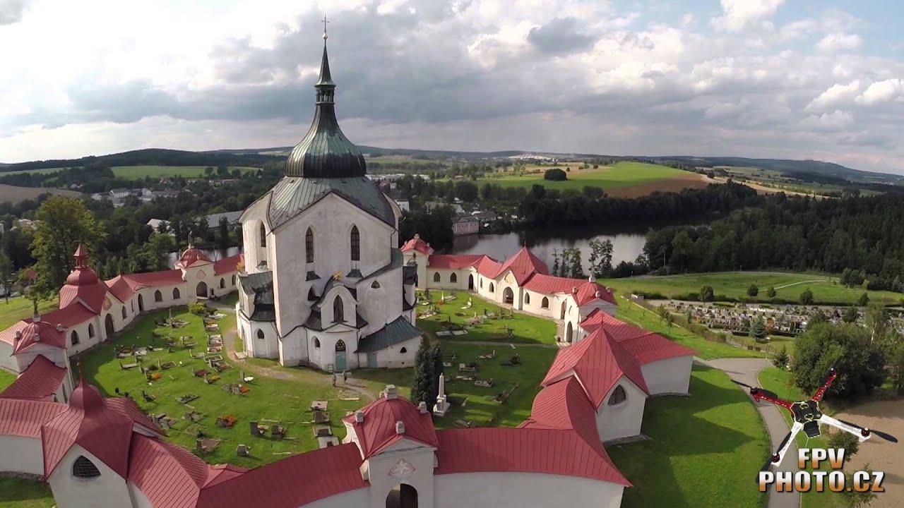 FPVPhoto.cz - Zelená Hora, poutní kostel sv. Jana Nepomuckého, Ždár nad Sázavou