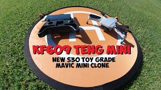 KF609 TENG MINI - $30 DJI MAVIC MINI TOY GRADE CLONE REVIEW