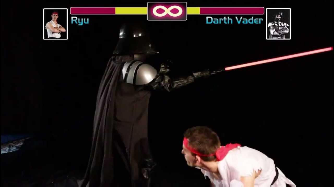 Who Would Win: Darth Vader Or Ryu?
