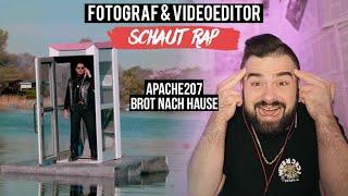 APACHE207   BROT NACH HAUSE  FOTOGRAF & VIDEOEDITOR SCHAUT RAP  LIVE REACTION