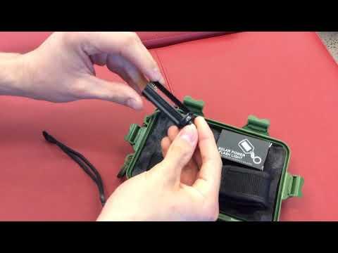 G700 X800 LED Zoom Military Grade Tactical Flashlight