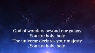God of wonders HD Lyrics Video by Chris Tomlin