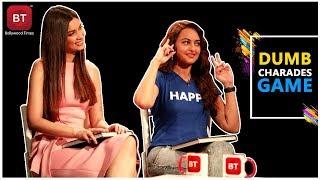 Happy Phirr Bhag Jayegi Movie Star Cast Played A Fun-filled Dumb Charades Round