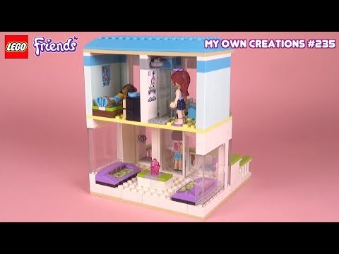 House 059 Lego Friends Custom Creations For Kids 235 Doc Toy Penoy