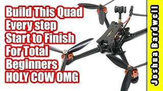 Beginner Guide $120 FPV Drone How To Build - Part 13 - First Flight