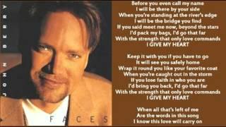 John Berry - I Give My Heart (1996)