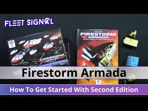 How To Get Started With Firestorm Armada Second Edition