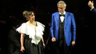 """Andrea Bocelli e Maria Rita """"Canto della terra"""""""