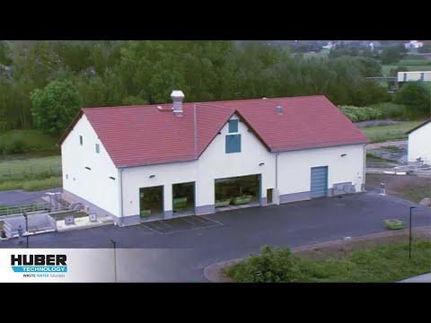 Video: HUBER Coanda Sandwaschanlage RoSF4 auf einer kommunalen Kläranlage