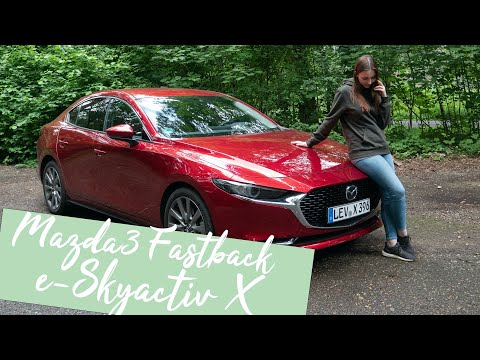 Der Verbrenner ist noch nicht tot! Mazda3 Fastback e-Skyactiv X (186 PS) [4K] - Autophorie