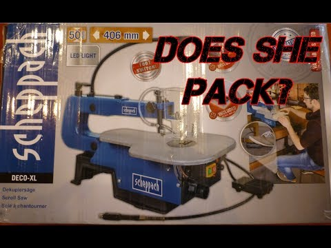 Scheppach Scroll Saw and Rotary Tool | Unboxing, Review, Send Back???