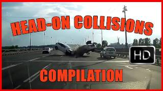 WORST Head On Collisions - BEST Compilation 15 mins +