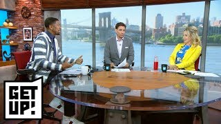 Myles Garrett says Kevin Durant 'broke the league' after joining Warriors | Get Up! | ESPN