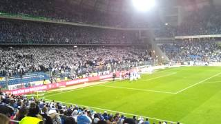 Lech Poznań - Legia Warszawa 2-1 Radość kibiców po meczu | 22.03.2015.