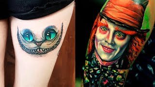 The Most Madness Alice In Wonderland Tattoos