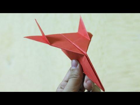 Comment Faire Un Origami Avion En Papier Qui Vole Bien Et
