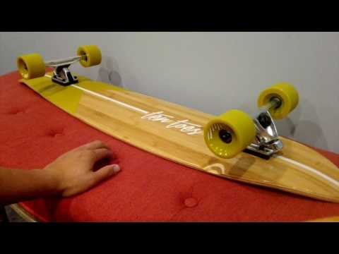 First Look At The Ten Toes Zed 44″ Longboard (UNBOXING + REVIEW)