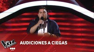 """Pablo Díaz - """"Nada es para siempre"""" - Luis Fonsi - Audiciones a ciegas - La Voz Argentina 2018"""