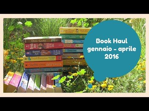 Book Haul di Gennaio - Aprile 2016