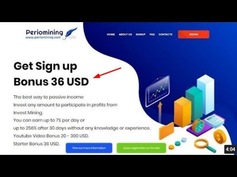 Periomining.com отзывы 2019, mmgp, обзор, Cryptocurrency Cloud Mining, get Free BONUS 36 USD